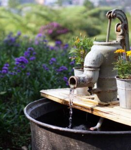 How to filter water from a well